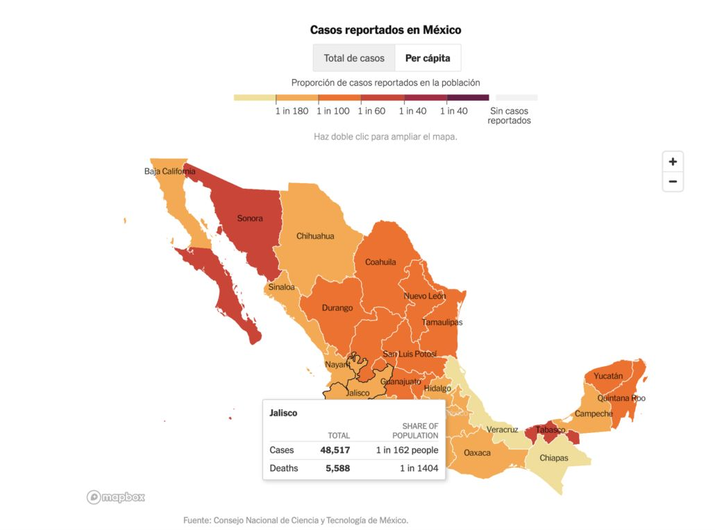 El Dr. Jorge Villanueva nos comparte datos duros del coronavirus en Jalisco
