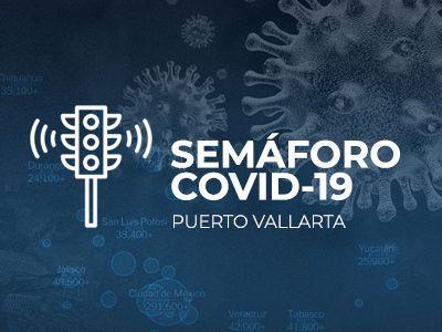 Semáforo Covid-19 en Puerto Vallarta