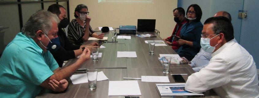 La reunión tuvo lugar en las oficinas de AEBBA